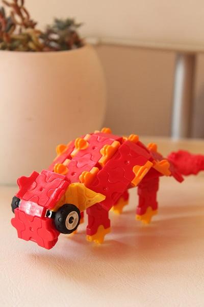 ラキューで恐竜