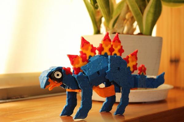 ラキューでステゴサウルス