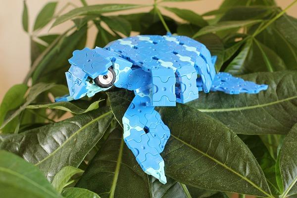 ラキュ―で恐竜アーケロン